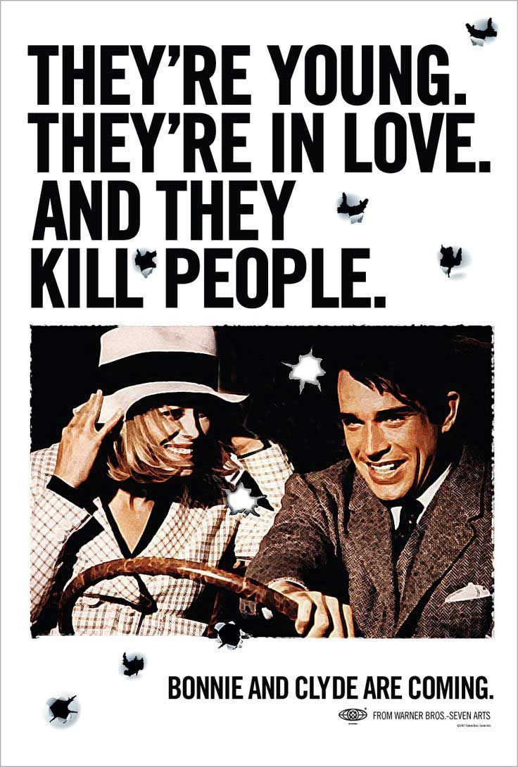 Bonnie And Clyde Movie Poster 'Bonnie and...