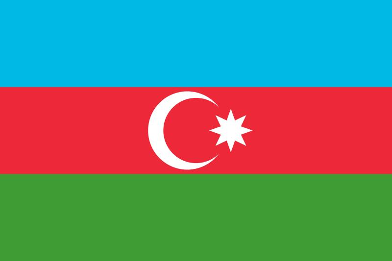 International Shipping To Port Of Baku Azerbaijan K International Flags Of The World Azerbaijan Flag Flag