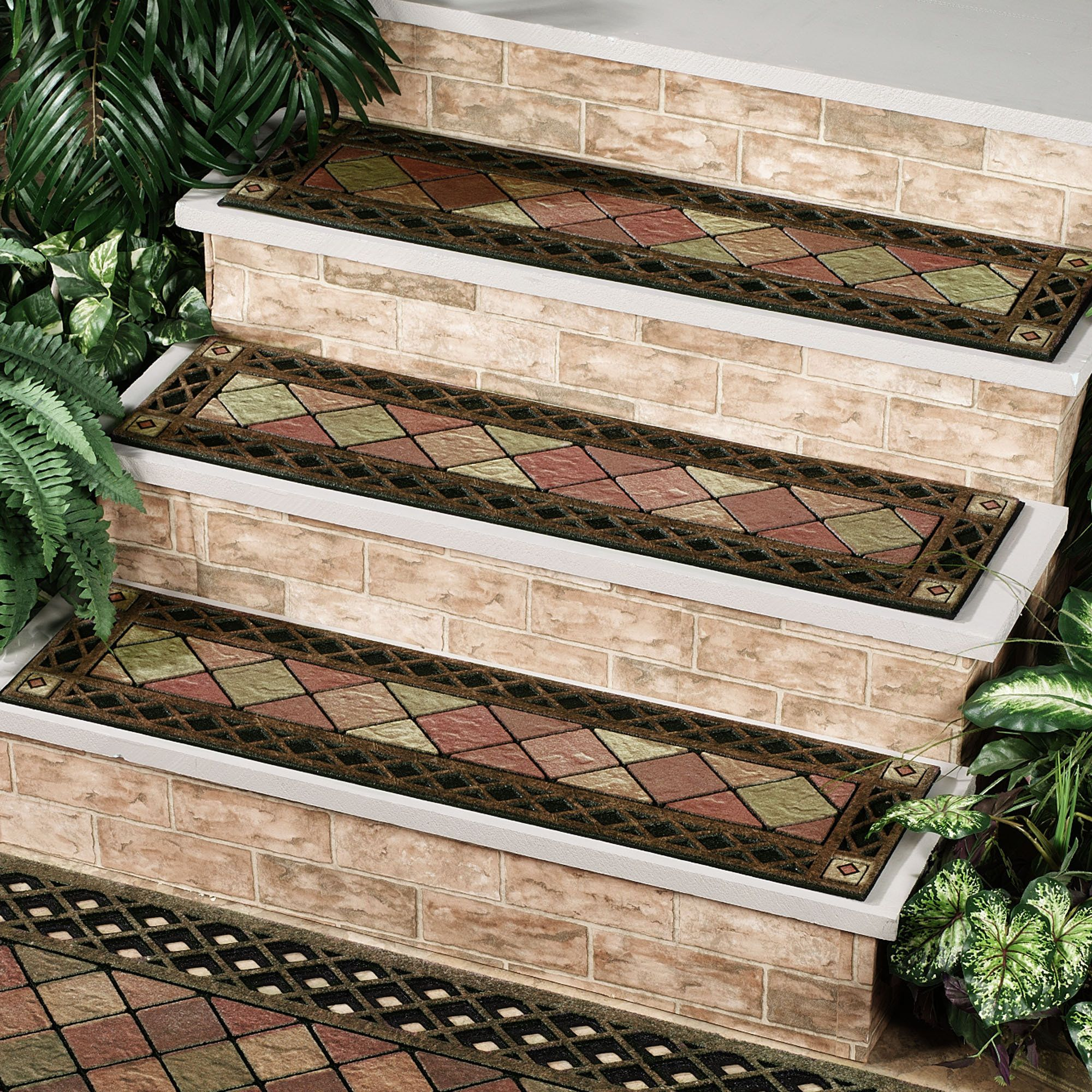 Outdoor Stair Treads Home Depot Stone Ii Stair Tread | Home Depot Outdoor Stairs