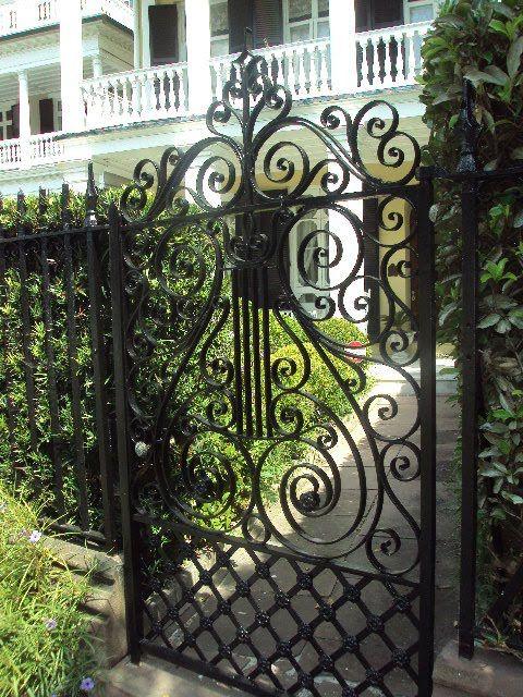 Iron Gate Charleston Iron Gate Design Front Gate Design