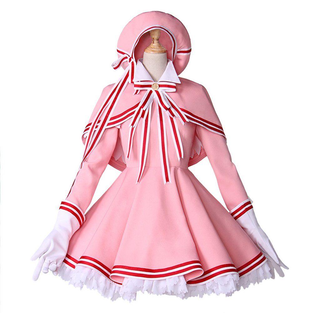 Cosking kinomoto sakura costume for women halloween