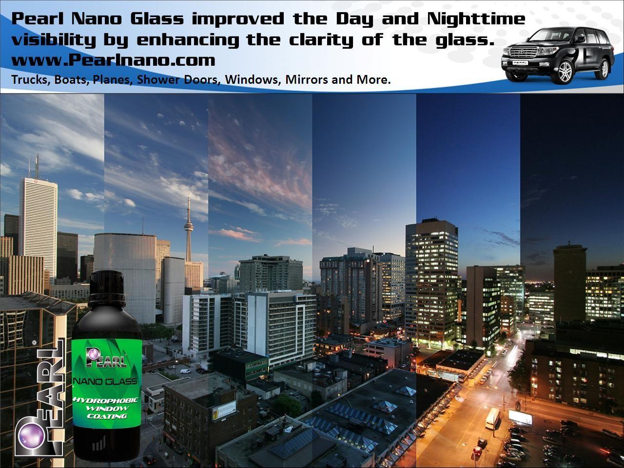 Pearl Nano Glass was developed with the latest in nano