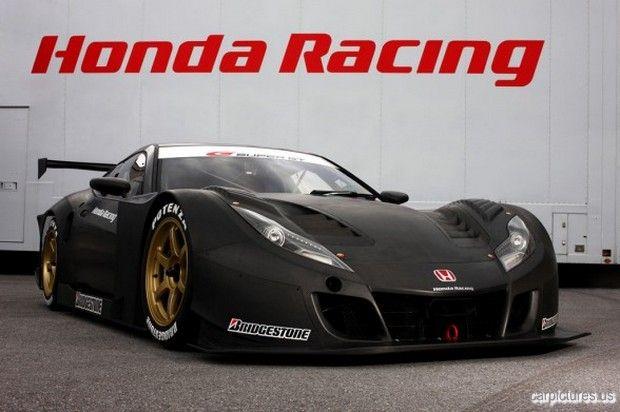 Beau Honda HSV 010 GT Racing Car