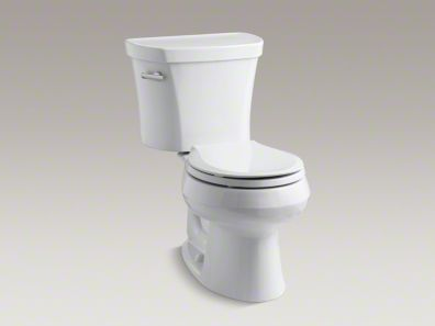 Wellworth 14 Inch Rough In Dual Flush Toilet Contemporary Toilets Kohler