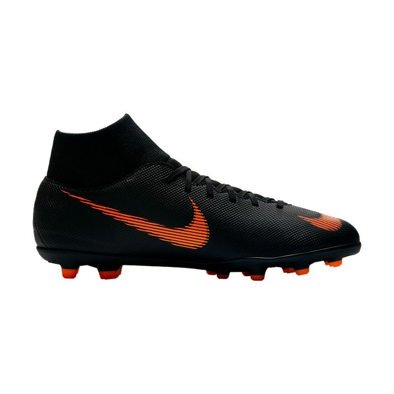 Nike Men S Mercurial Superfly 6 Club Mg Outdoor Soccer Cleats Black Orange White Soccer Cleats Soccer Boots Nike Men