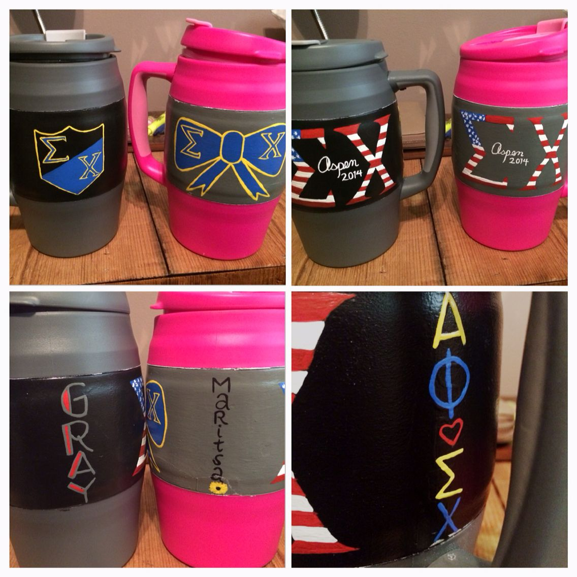 Made some Sigma Chi bubba kegs. Aspen Formal 2014. Alpha Phi.