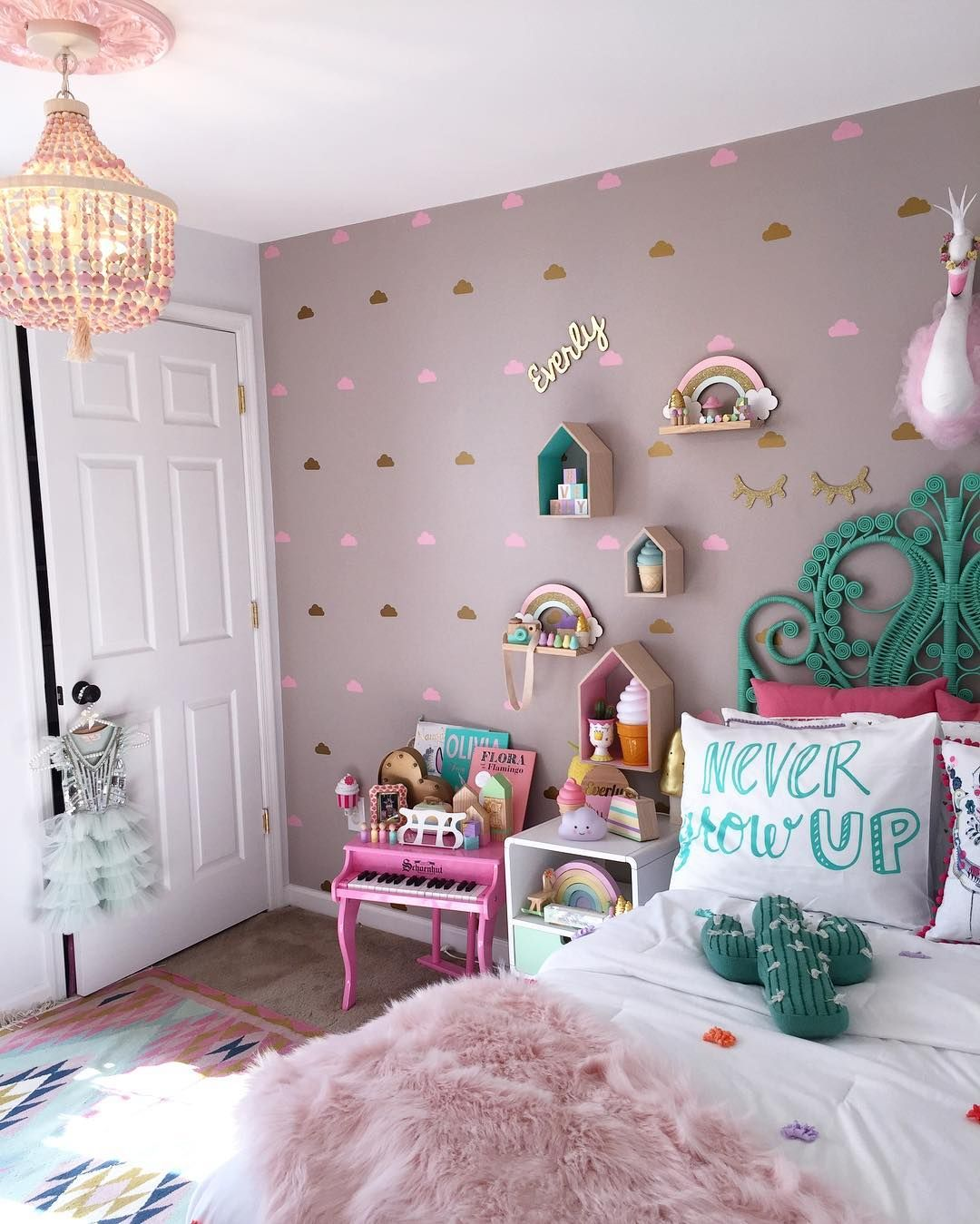 Magical place for my sweet little girl💕 @mrsirwin is part of Master bed room furniture -