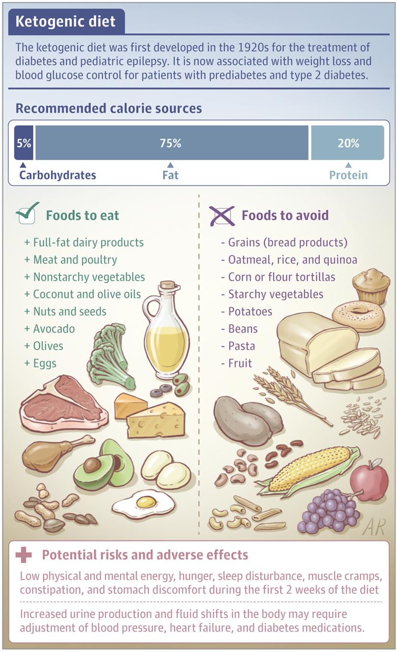 Ketogenic Diets Lifestyle Behaviors Jama Jama Network Ketogenic Diet Epilepsy Ketogenic Diet Epilepsy Children
