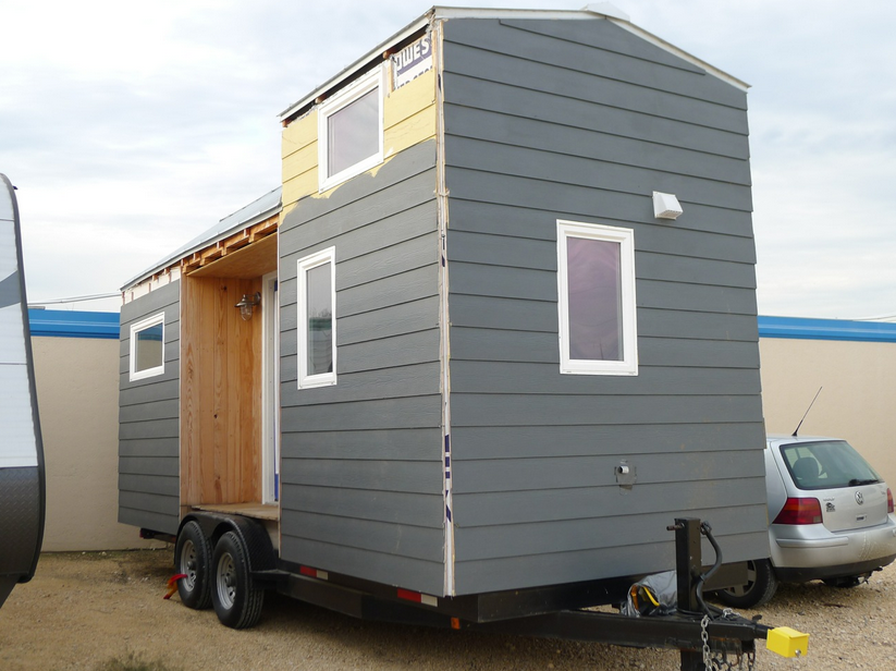 Tiny Houses For Sale Texas San Antonio On Moving With Blue Wall