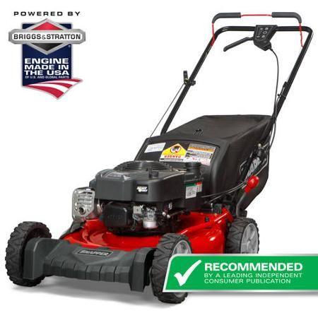 Snapper 21 190cc 3n1 Sp Mower Walmart Com Self Propelled Mower Mulching Mower