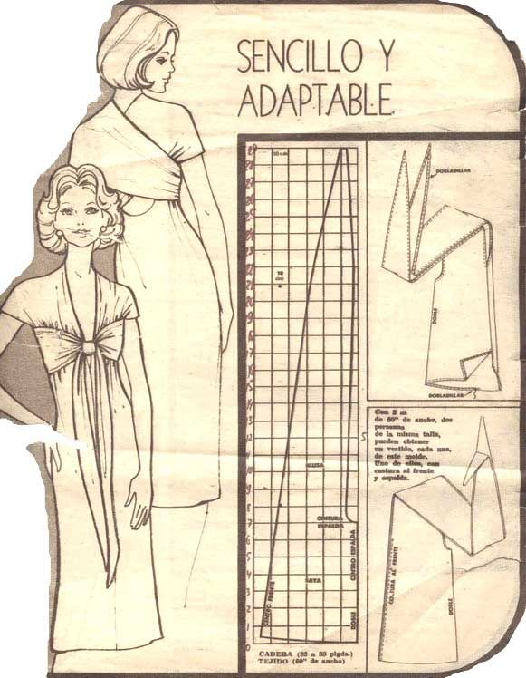 infinity dress | PATRONAJE VESTIDO | Pinterest | Costura, Patrones y ...