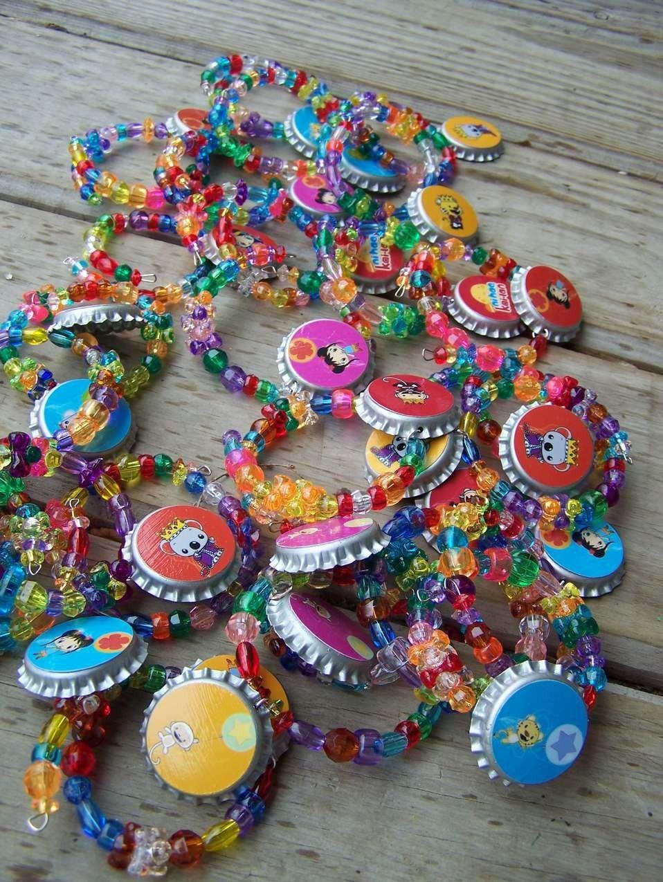 Ni Hao Party Kai Lan Birthday Favor Bracelet 6pk