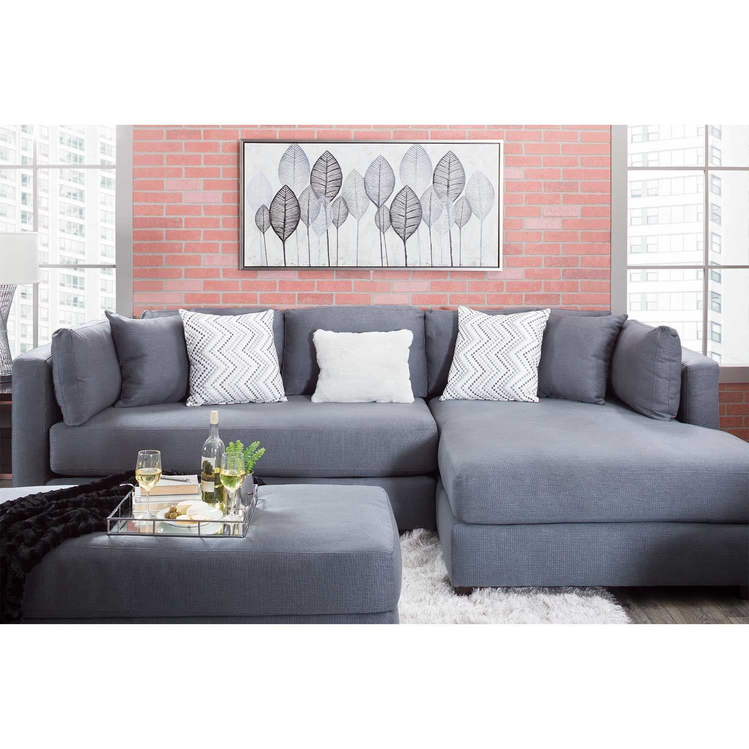 Outstanding Parker 2 Piece With Laf Chaise Sectional 5540 5517 Bralicious Painted Fabric Chair Ideas Braliciousco