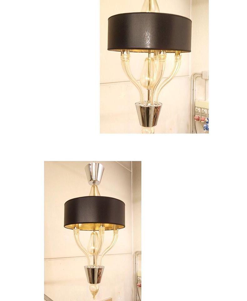 Ricambio Paralume Vetro Lampada Applique Lampadario Lampadari Glass Replacement