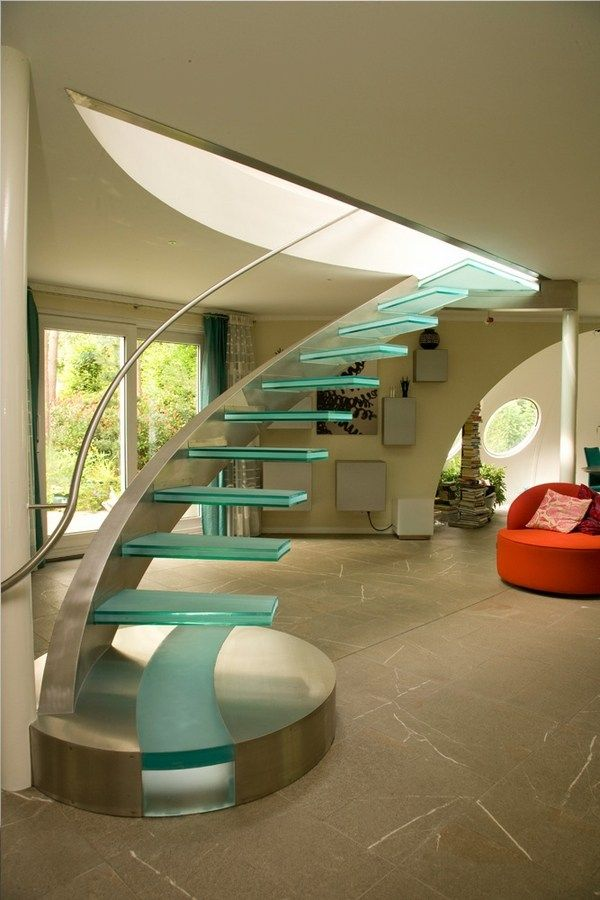 Best Unique Glass Staircase Designs Floating Staircase Ideas 640 x 480