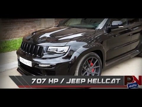2017 Jeep Srt Hellcat Price Release Date Review Performance