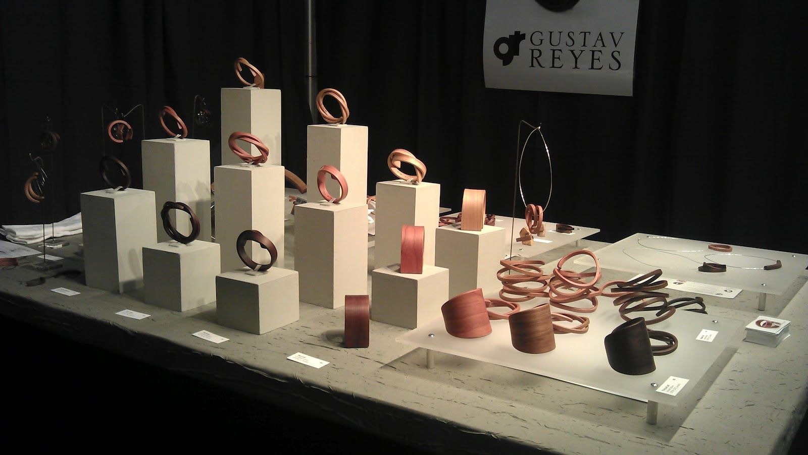 Gustav Reyes Wood Meaning Design Booth 113 Collections
