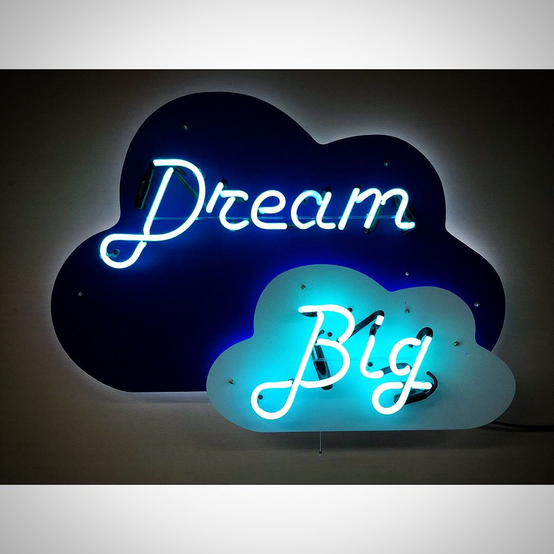 Personalized Neon Signs Extraordinary A Custom Neon Sign From Wwwjantecneon #dreambig #dream 2018