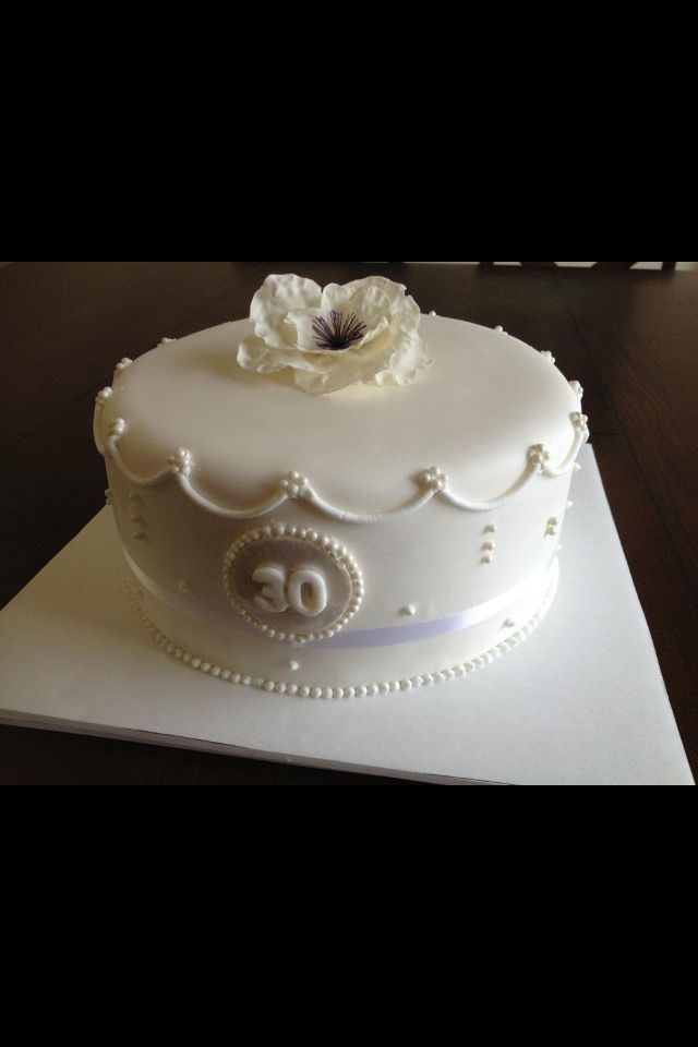 30 Year Anniversary That S Cake Facebook My Creations