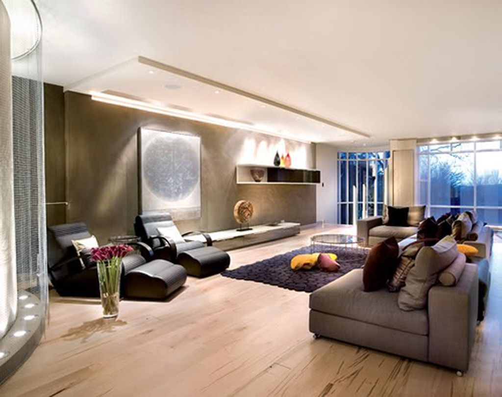 Free Home Decorating Ideas  Decorating Ideas One Of 4 Total Unique Luxury Modern Living Room Design 2018