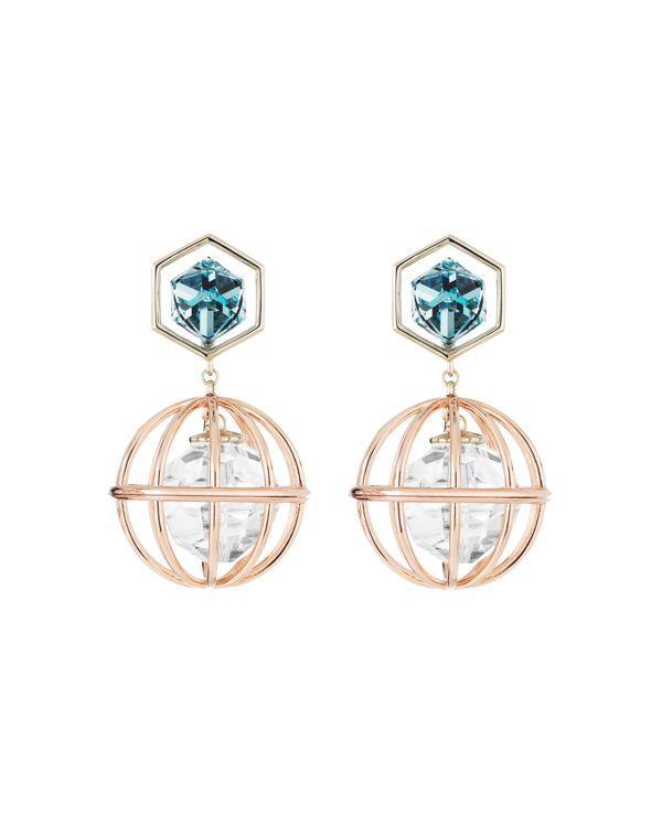 c4813867341ed Atelier Swarovski x Mary Katrantzou Nostalgia Drop Earrings ...