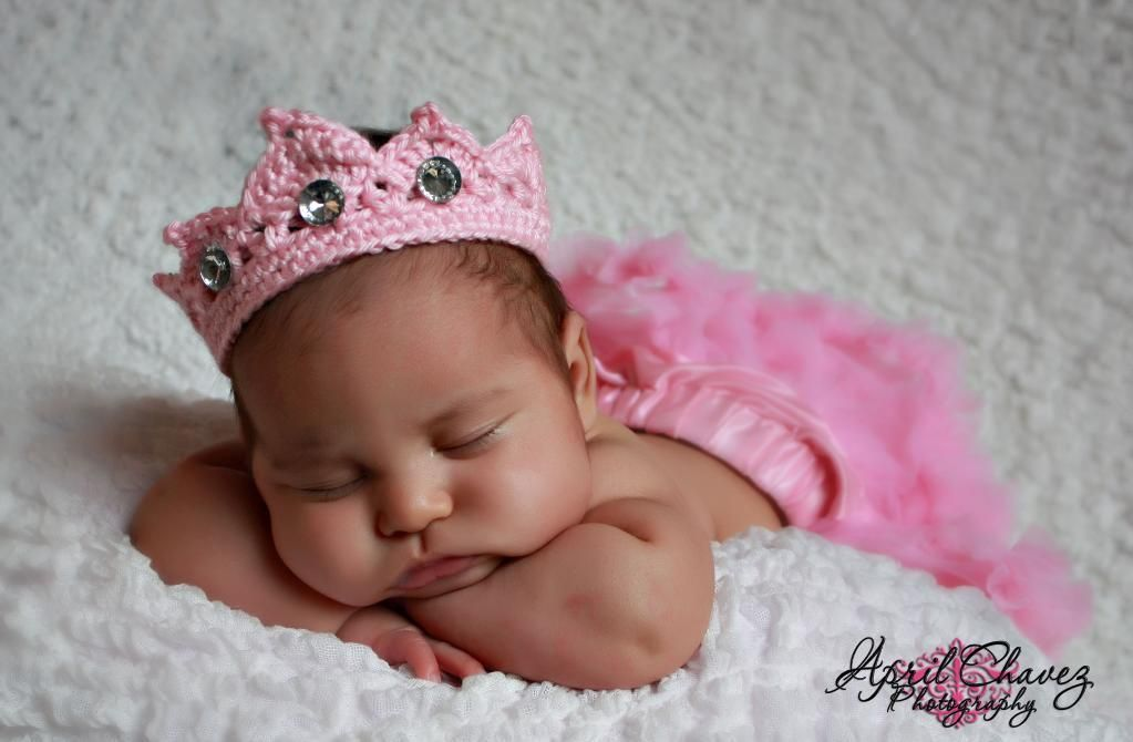 Newborn Princess Tiara Crown
