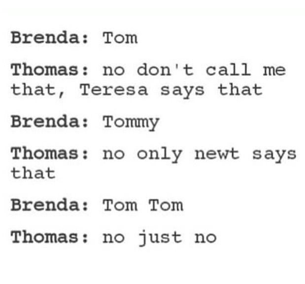 Photo of Hahahaha ser ut som om du må holde fast ved Thomas