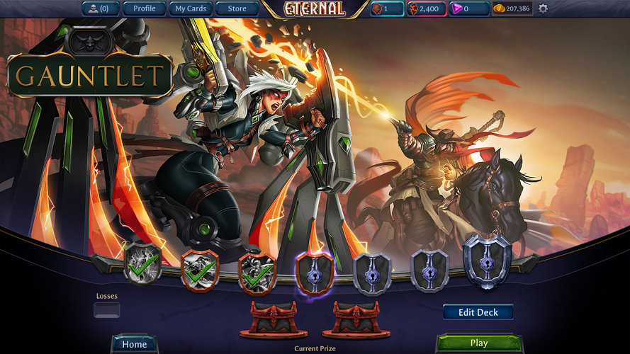 Eternal Card Game Unreleased L Screenshot Card Games Strategy Card Games Game Reviews