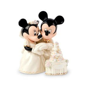 Lenox Minnie's Dream Wedding Cake Figurine by Lenox See the Amazon Page for this brand