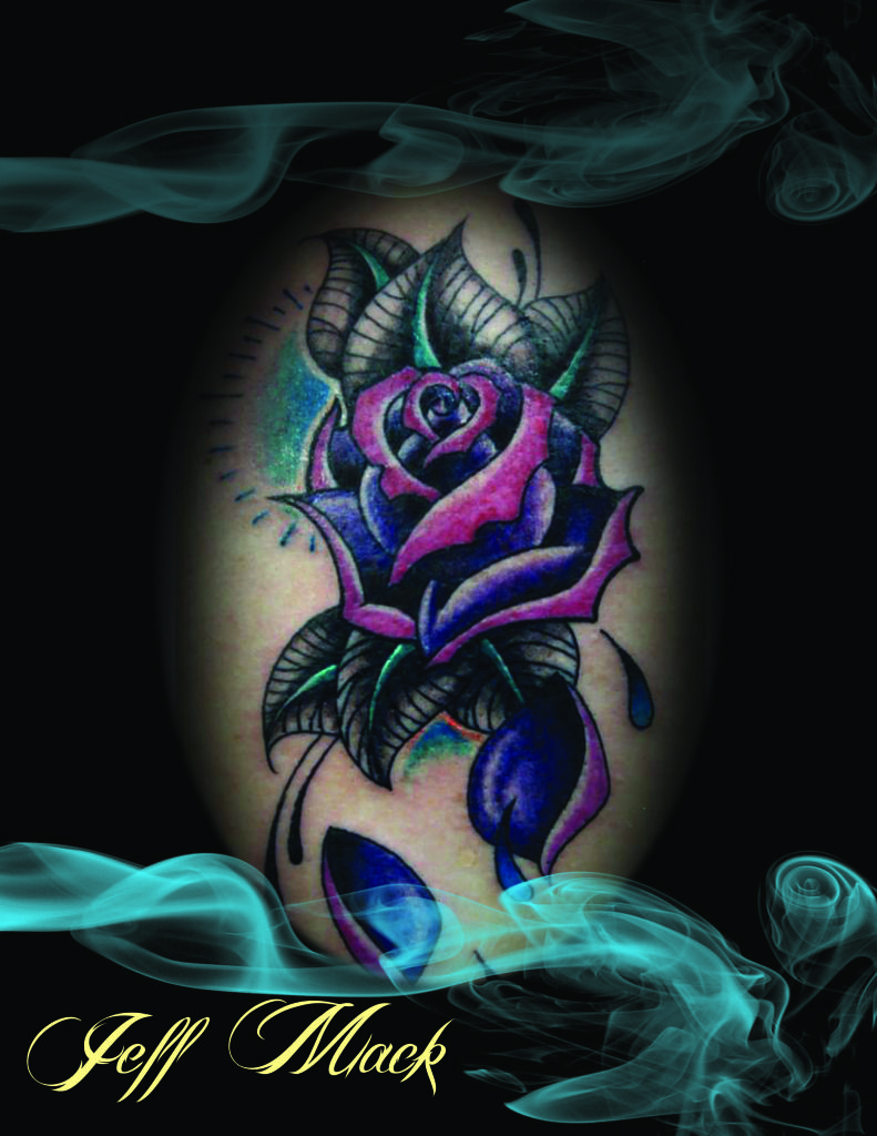 Tattoo ideas for lower back purple rose lower back photo this photo was uploaded by