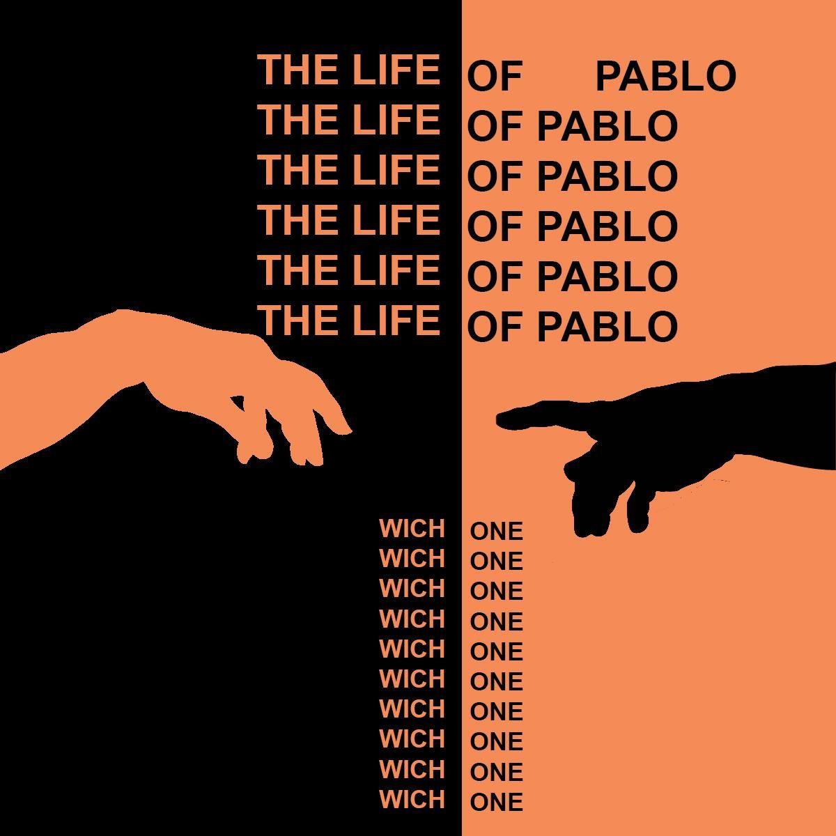 Kanye West The Life Of Pablo Kanye West Album Cover Kanye West Wallpaper Kanye West