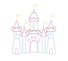 Designs :: Girls :: Line Castle