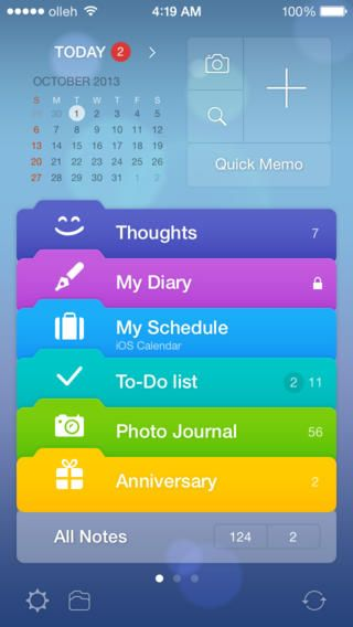 Awesome Note App for organization A P P S Pinterest English