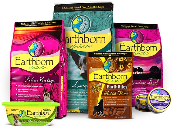 Earthborn Holistic® offers a wholesome approach to