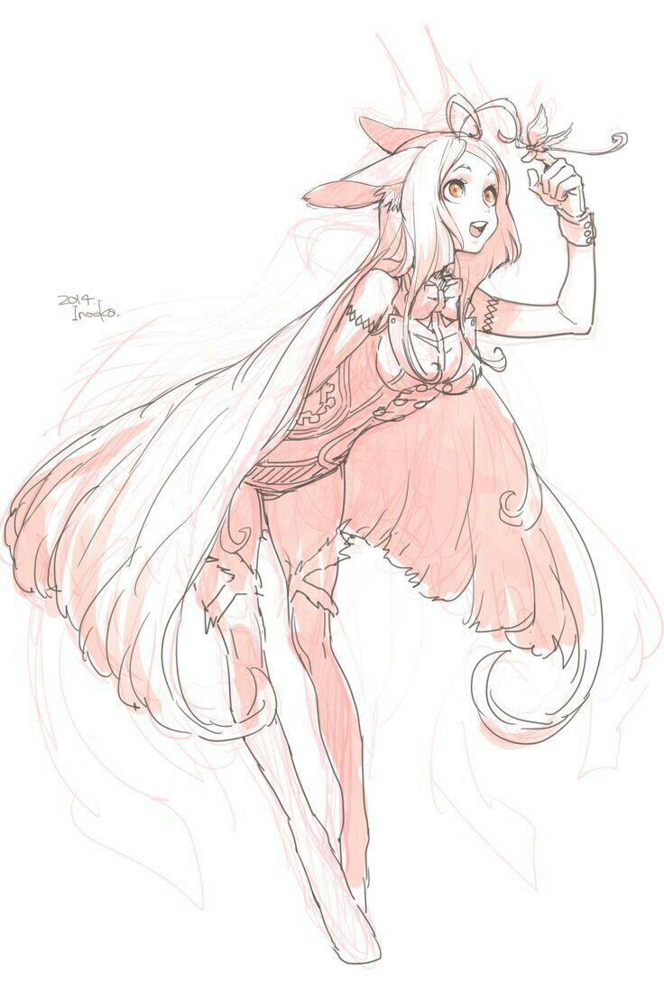 Magic girl  Character art, Sketches, Drawings