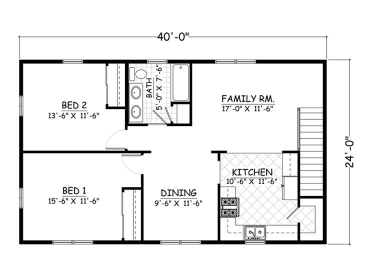 2 Bed 1 Bath 1000 Sqft Above Garage Apartment Garage Floor Plans Garage Apartment Plans Above Garage Apartment