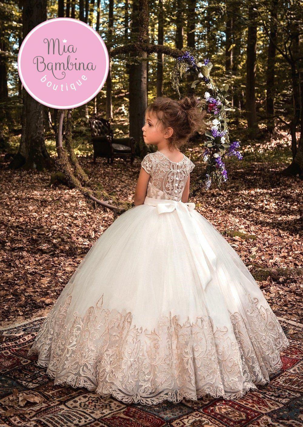 f96685543  dressesforweddings Kids Gown