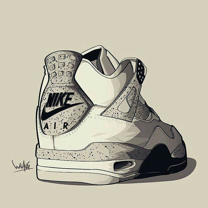 S Jordan Shoes Drawings Clipart - Free Clipart | Brands | Pinterest |  Drawings, Free and Drawing step