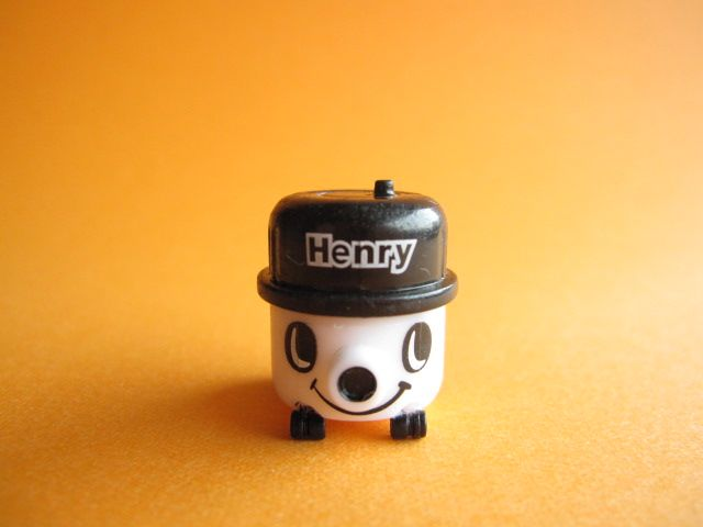 Kawaii Cute Henry Vacuum Cleaner Tiny Figure Mascot Toy *White