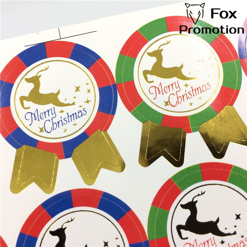 80pc DIY Scrapbooking Merry Christmas Party Decoration Sticker New