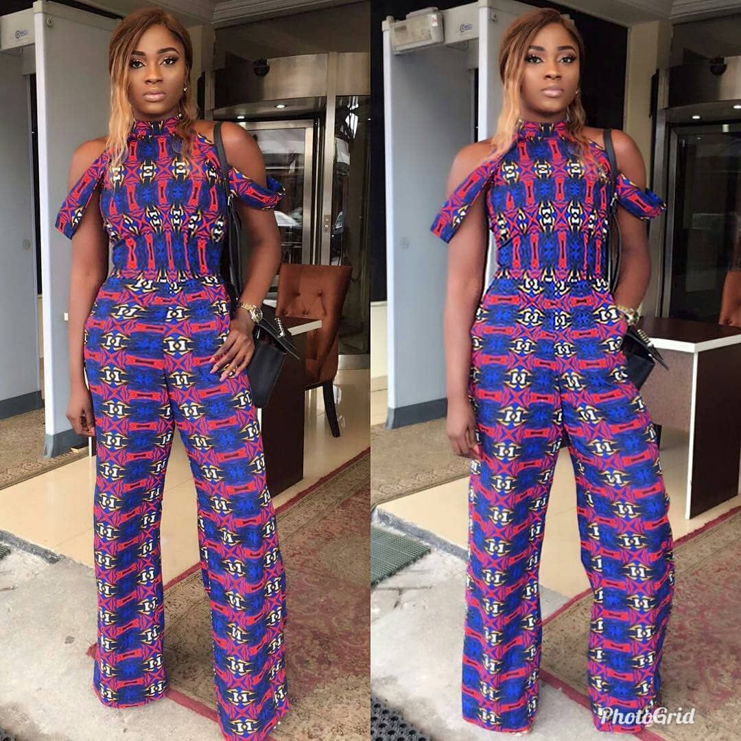 356c768fb7b6 Check Out this Lovely ankara jumpsuit styles that will suit you ...