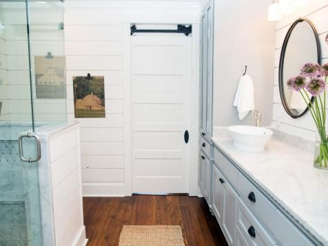 Fixer upper texas sized house small town charm all - Joanna gaines bathroom renovations ...