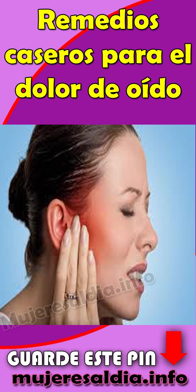 Casera de el remedio para oido dolor
