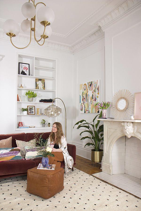 parisian boho apartment living by lo baba souk decor pinterest