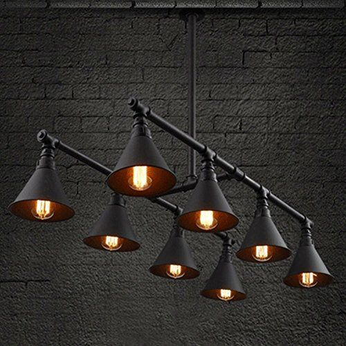 BAYCHEER HL Vintage Industrial Style 8 Light s