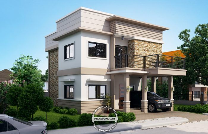 Juliet, 2 Story House with Roof Deck | House design ...