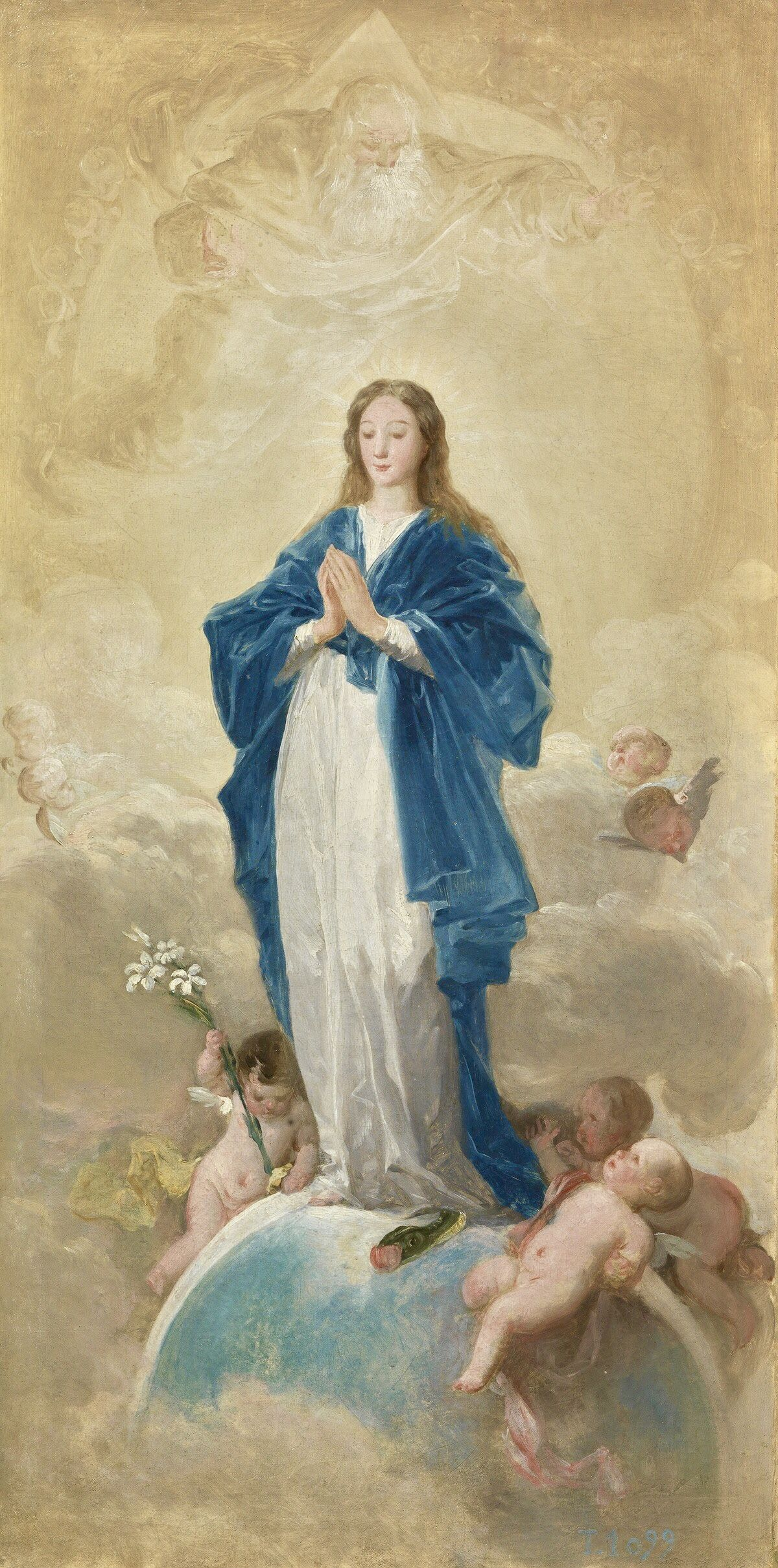 Immaculate Conception Painting Murillo Botched