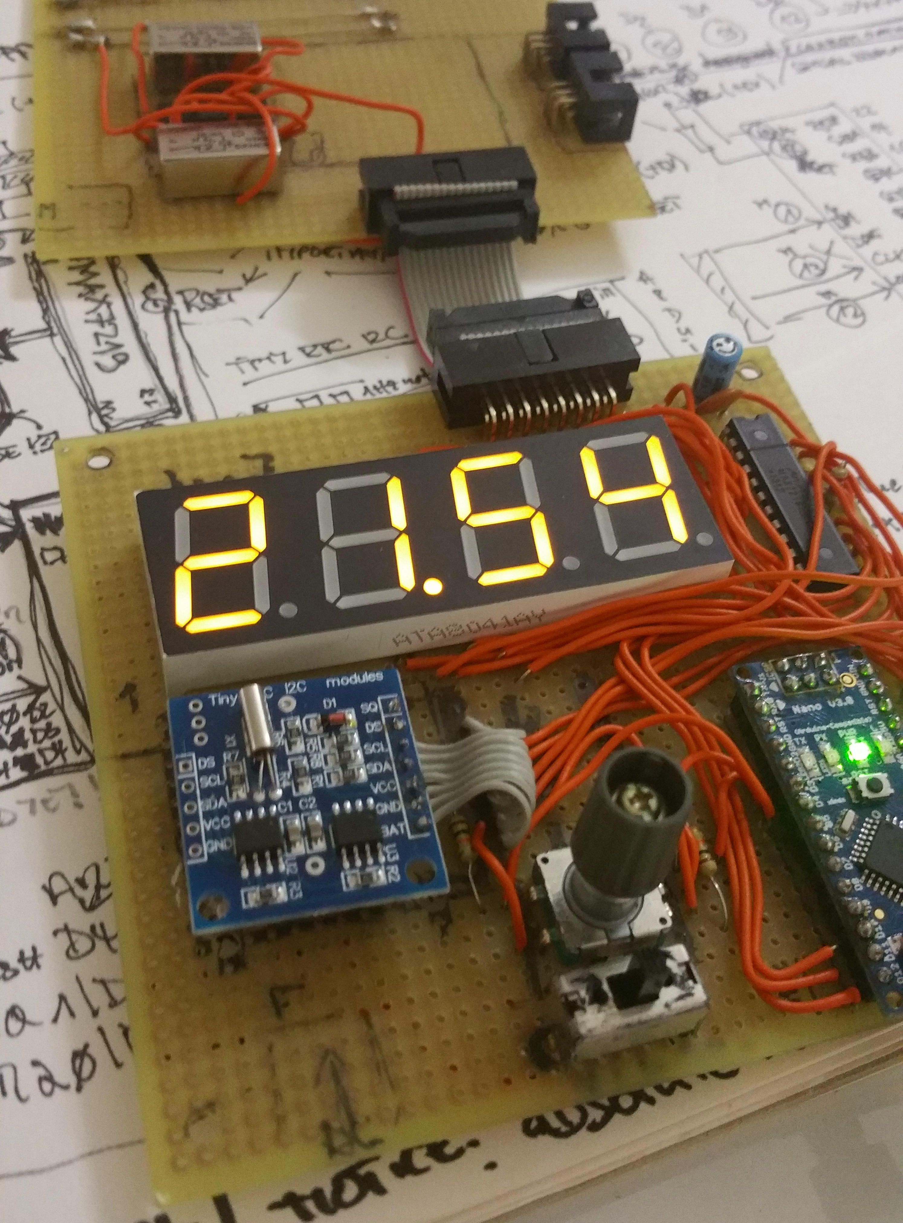 Clock Project Now With Breakout Board Arduino Nano Clone A How Micro Switch Works Working Of Engineersgarage Tiny Rtc
