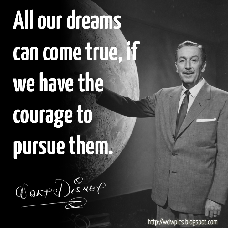 Walt Disney Quote Check Out The #waltdisney Quote Of The Day Over At Httpwdwpics