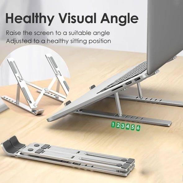 Adjustable Foldable Laptop Stand Non-slip Desktop